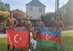 Milli komandamız Macarıstanda 3 medal qazandı - FOTOLAR