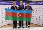 Gimnastlarımız Türkiyədə 2 qızıl, 2 gümüş medal qazandılar