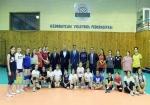 Fərid Qayıbov voleybol federasiyasının fəaliyyəti ilə tanış olub