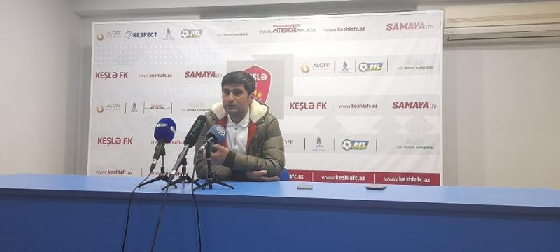 Ramin Quliyev maraqsız matçda nəticəni oyuna görə saydı: