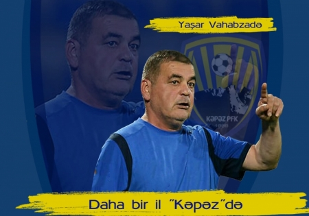 """""""Kəpəz""""dən Yaşar Vahabzadə ilə yeni müqavilə"""