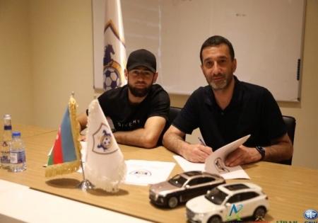 """""""Qarabağ""""da yeni müqavilə"""