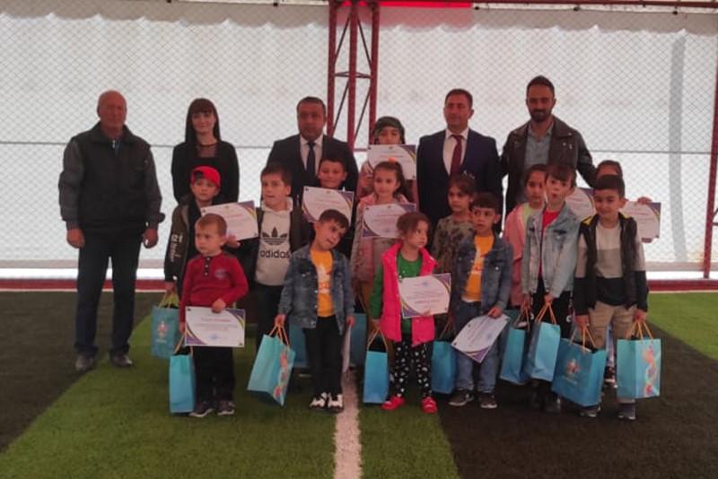 Şəhid və qazi övladları üçün gəzinti və əyləncəli futbol təşkil olunub